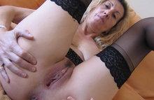 Тетка дразнит работодателя своей пиздой
