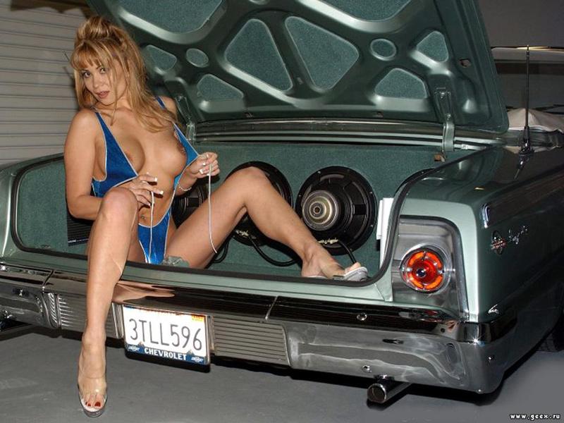 Девушки на авто №1409