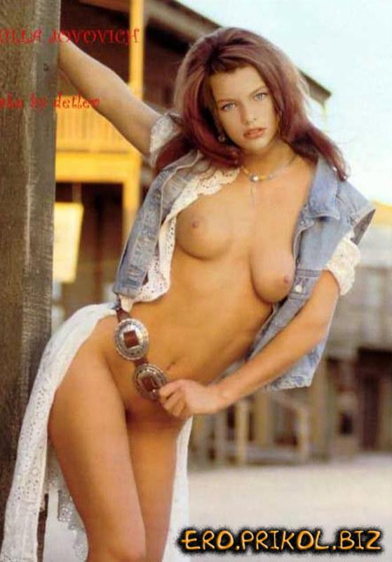 Мила йовович голая порно видео