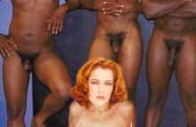 Gillian Anderson застукали участвующей в порнографии
