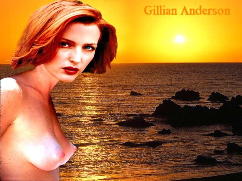 Голая Gillian Anderson, лучшие фото