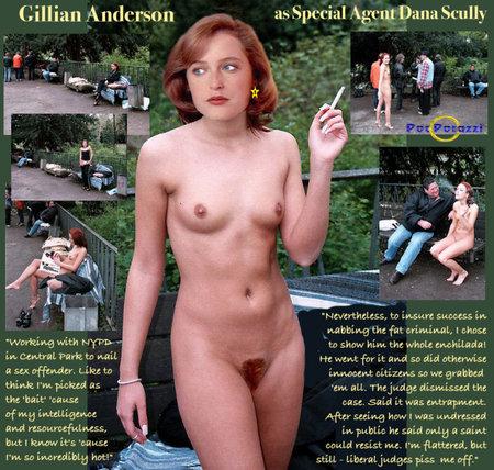 Порно снимки агента скалли