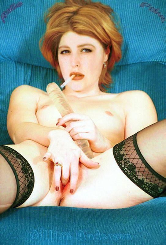 Джиллиан андерсон порно фото видео