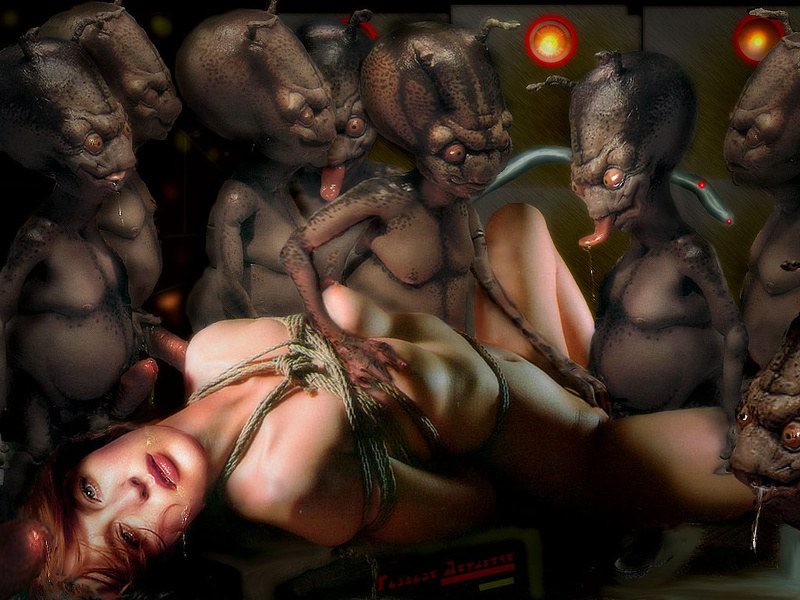 Порно пришельцы и девушки