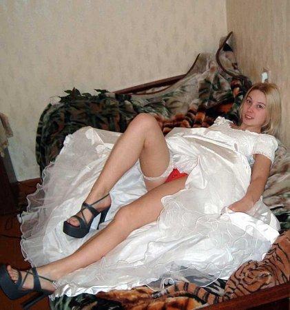 Фото порно голых невест