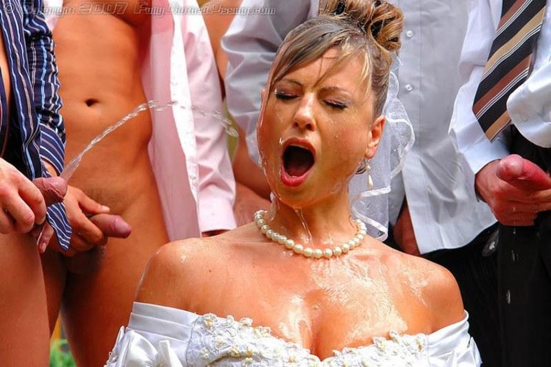 В невест кончают