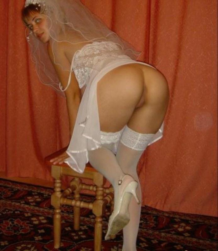 Невеста без трусов реальное видео допускаете