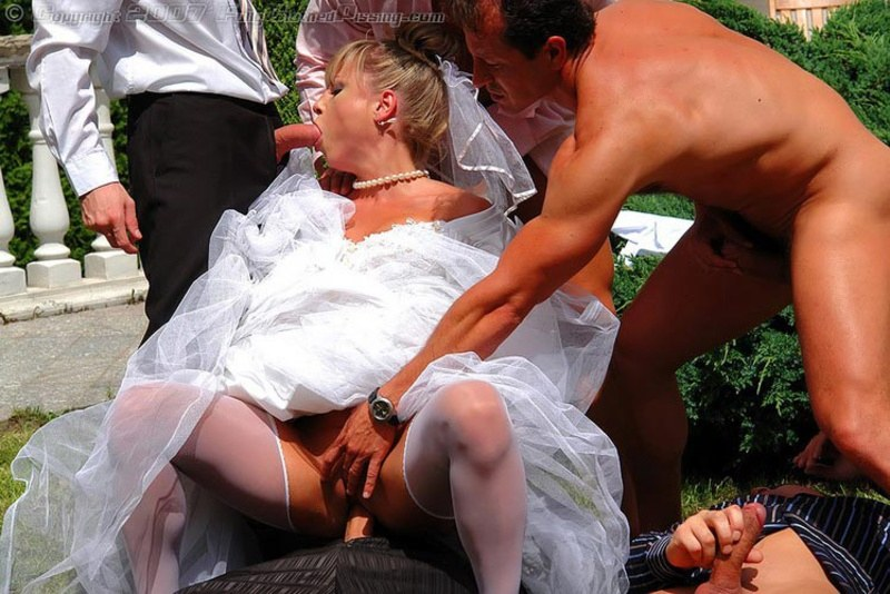 невеста, жених порно