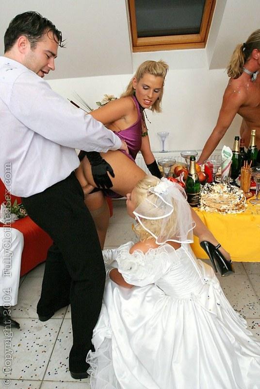 Порно.моя свадьба