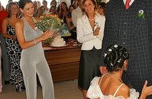 Невеста отсосала жениху прямо в заксе