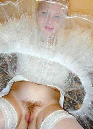У невесты под юбкой