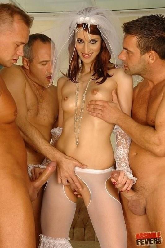 Порно Невеста Группа