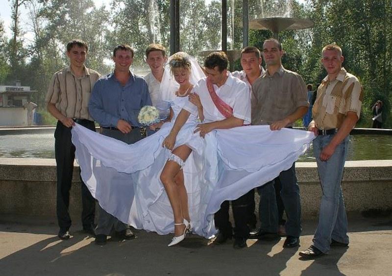 Без Трусов На Свадьбе Фото