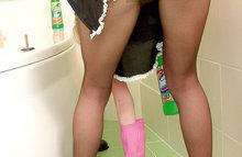 Порно фото голой домохозяйки