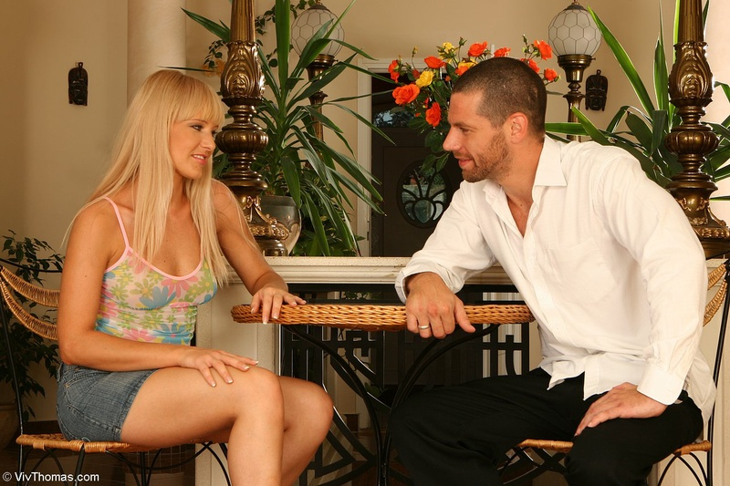 Порно фото секса с блондинкой
