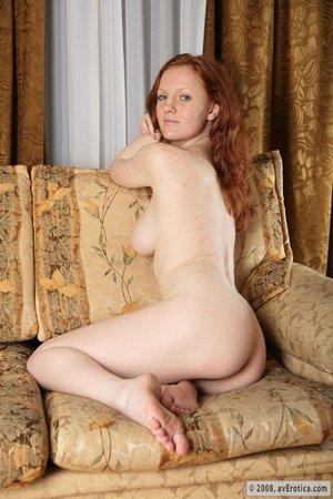 Порно с рыженькой пухляшкой