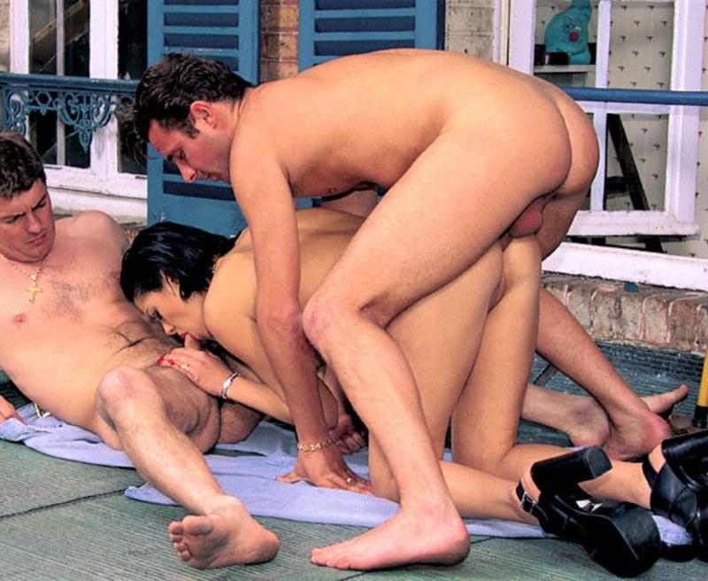 Порно садовник и хазяика