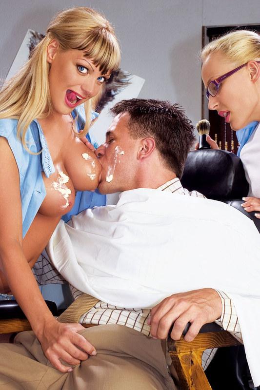 Строгий Секс Возбуждающий В Парихмахерской