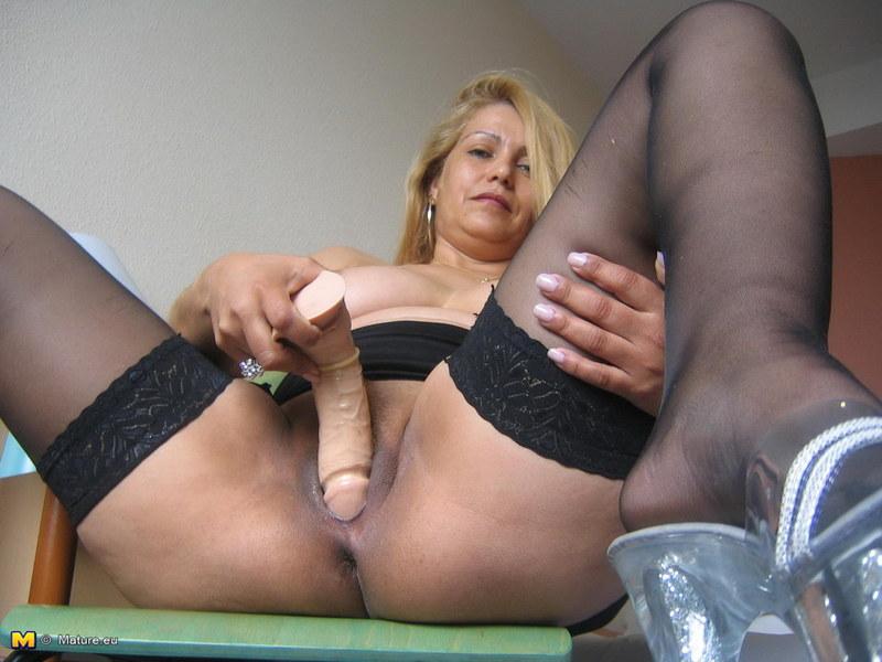 Зрелая Мастурбирует Порнофото