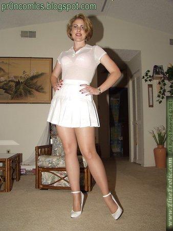 Зрелые в платьях порно