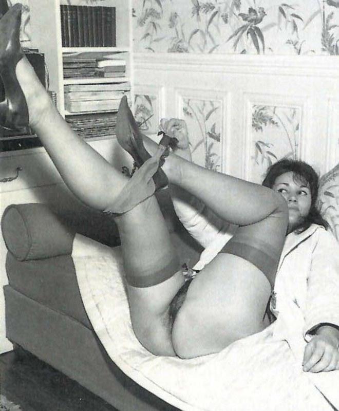 Чб ретро порно фото
