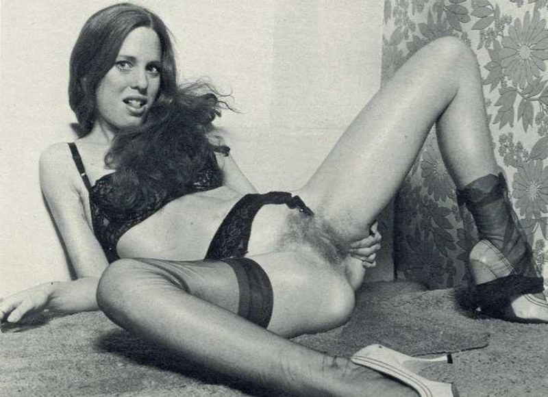 Небритые письки в 70-е