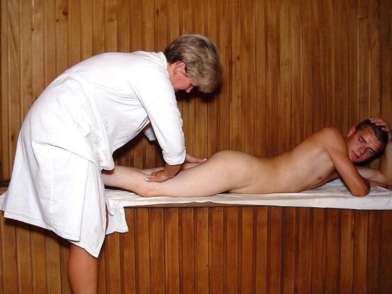 порно видео массаж в сауне