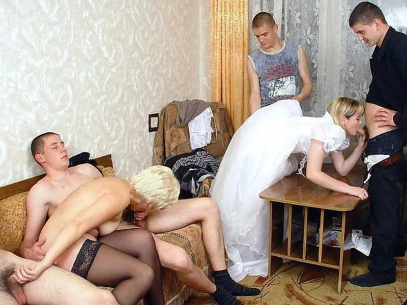 порно фото русская свадьба