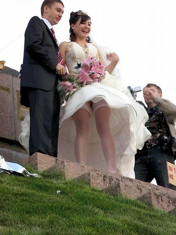 Фото на свадьбе без трусов