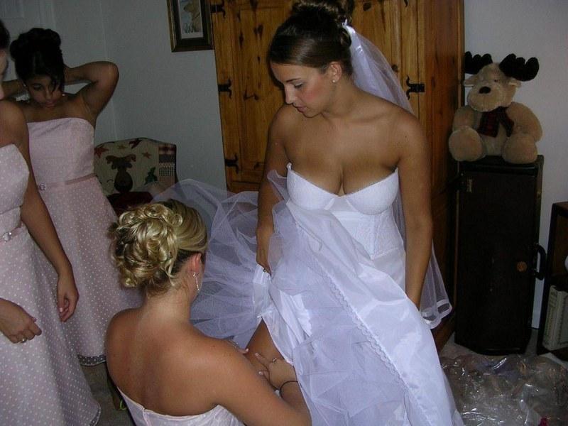 На свадьбах фото интим