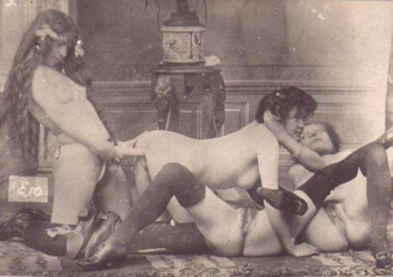 Старинные снимки секса