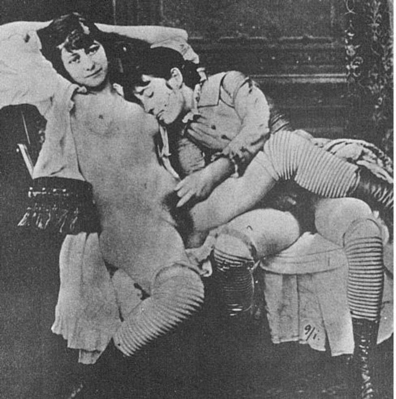 фото 19 века порно