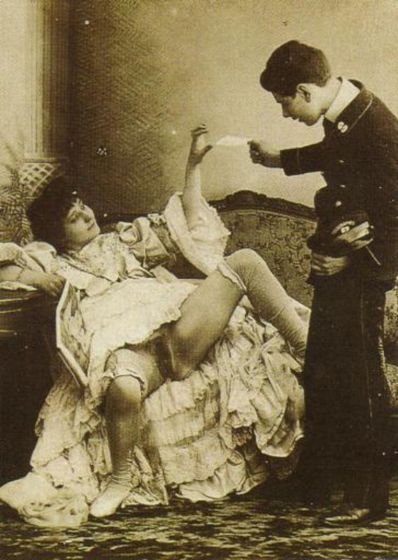From 1800s porn the