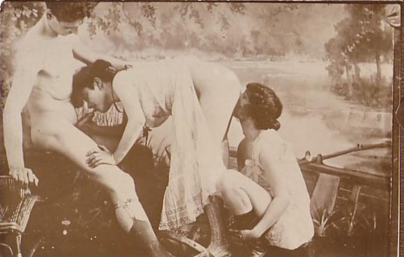 Фото порно прошлого века