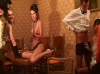 Грязные сапоги, гангстерская порно вечеринка русских