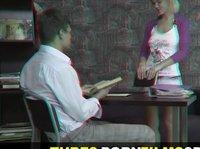 Русское анальное порно в объёмном изображении