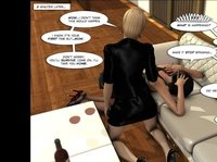 Лесбийский 3д комикс