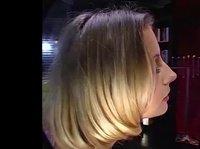 Блондинка в окружении трёх ненасытных парней