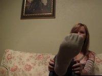 Сексопильная блондинка на веб камеру каждый вечер раздевается