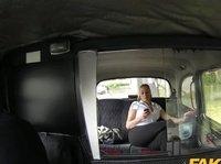 Толстозадая любительница перепихона присела в такси