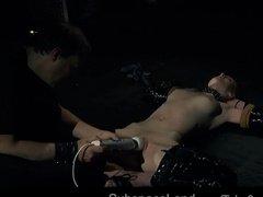 Искусные игры с сексуальной рабыней