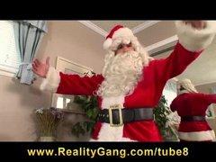 Отсос у Санта Клауса